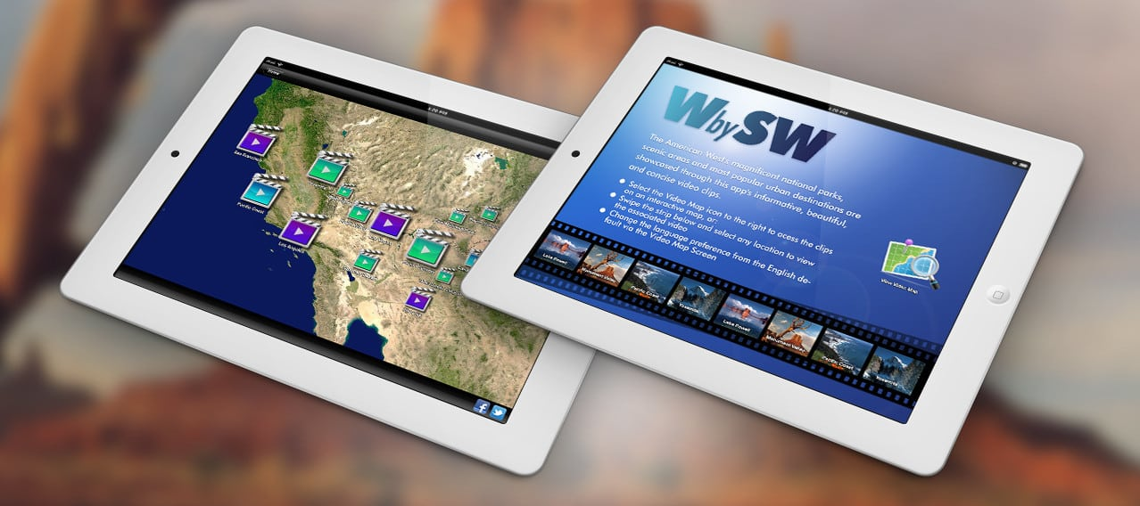West by Southwest iPad App