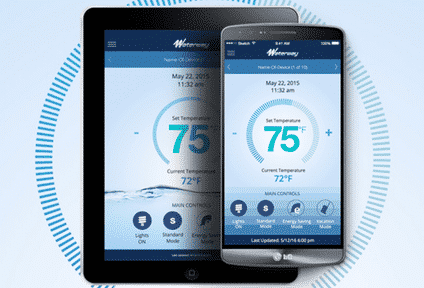 Waterway Plastics IoT Spa App for Android & iOS Devices