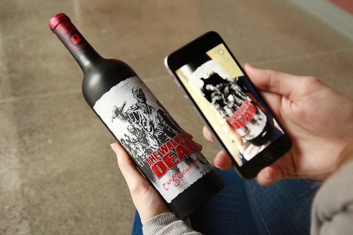Augmented Reality Wine Labels