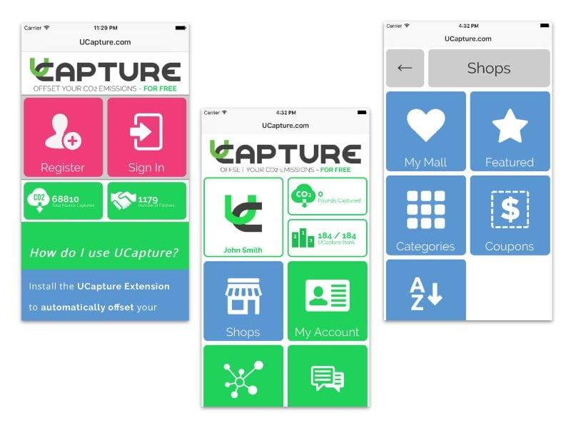 uCapture Mobile Application Development